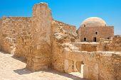 Venetian Fortress Of Rethymno. Crete Island, Greece