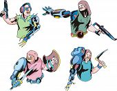 Colorful Cyborgs