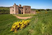 Crichton Castle, Edinburgh, Scotland