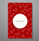 Invitation cards with Floral background. Vector illustration.