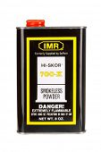 Hayward, CA - November 23, 2014: 8 oz Metal container of IMR HI-SKOR 700-X smokeless gunpowder
