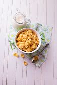Cornflakes In Bowl
