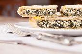 Chard Cheese Pie