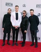 LOS ANGELES - NOV 23:  Imagine Dragons at the 2014 American Music Awards - Arrivals at the Nokia Theater on November 23, 2014 in Los Angeles, CA