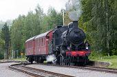 Steam Engine Locomotiv