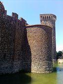 Italian Castle Towers Landscape