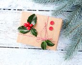 foto of aquifolium  - Beautiful Cristmas gift with European Holly  - JPG