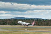Virgin Australia Passenger Airliner Taking off