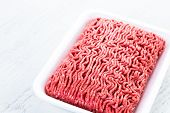 picture of ground-beef  - Fresh ground beef is ready for cooking meat dishes - JPG
