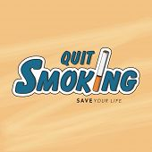 picture of addiction to smoking  - No Smoking Day poster - JPG
