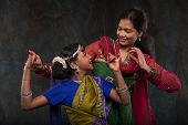 stock photo of indian culture  - happy Indian family  - JPG