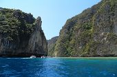 stock photo of phi phi  - KOH PHI PHI THAILAND  - JPG