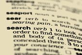 Dictionary definition - search (macro)
