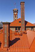 foto of portland oregon  - Union Station train station in Portland Oregon - JPG