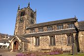 A Village Church In Yorkshire