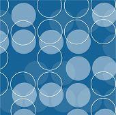 Retro circles - vector image