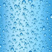 Seamless tile water drops background