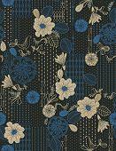 Vector Floral Garden (Seamless Pattern)