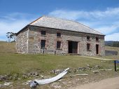 Old Commissariat building on Maria Island, Tasmania