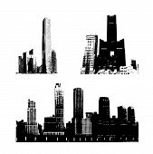 Silhouette Buildings