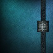 Elegant Blue Background Cover