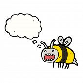 buzzing bee cartoon