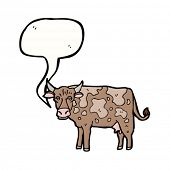 mooing cow cartoon