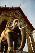 elephant in the temple, religious symbol (day)
