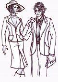 History Of Fashion: 70S Couple