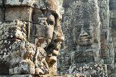 Bayon Temple Faces