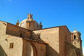 Cathedral Of Puno, Peru Or Catedral Basilica San Carlos Borromeo In Puno City Of Peru poster