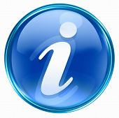 Information Icon Blue