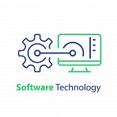 Software Development, Automation Technology, System Security Upgrade, Data Processing, Machine Learn poster
