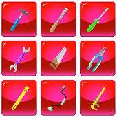 vetor ícones de ferramentas