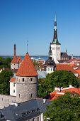 Church St. Olaf In Tallinn, Estonia