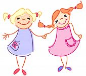 This is friendship of two girls