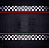 picture of designated driver  - Structured metallic perforated for race sheet background - JPG