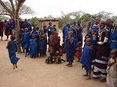 Masai Dorf
