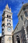 foto of messina  - This is photo of cathedral of Messina - JPG