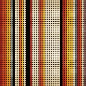 Seamless vintage pattern. Multicolored dot background