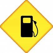 Signo de la gasolinera
