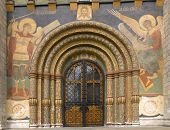 Southern Portal Of The Assumption Cathedral Of The Moscow Kremlin