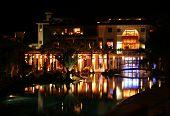 Luxury Hotel At Night