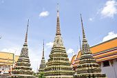 Thailand Pagoda, Wat Pho.