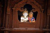 Siva And Parvati, Hindu Gods