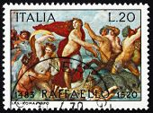 Postage stamp Italy 1970 The Triumph of Galatea, Fresco