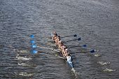 Three Rivers Rowing Association races in the Head of Charles Regatta