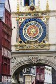 Rouen - Historic Clock