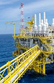 stock photo of offshoring  - The offshore platform in south of Thailand - JPG