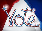 Vote Usa Presidential Election Ribbon